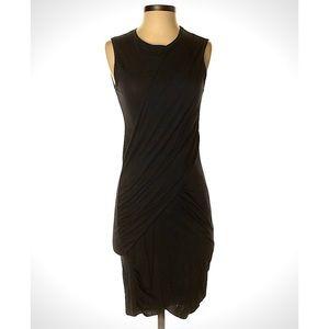Anthro Stateside Twist Front Draped Dress, Small